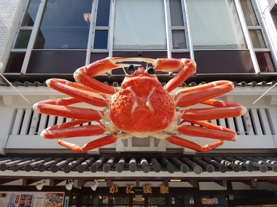 Osaka's Famous Crab